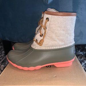 Women's Sperry Top-Sider Saltwater Duck Boot!
